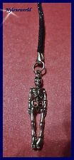 SKELETT Handyanhänger Schlüsselanhänger Taschenanhänger NEU      (c115)