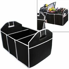 Black Car Trunk Cargo Storage Organizer Box lockers Holder Bag High Capacity Kit