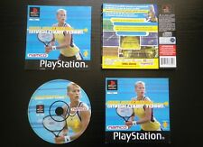 JEU Sony PLAYSTATION PS1 PS2 : ANNA KOURNIKOVA'S SMASH COURT TENNIS (complet)