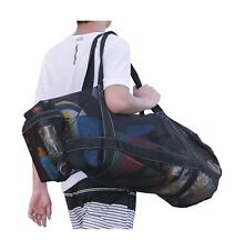 Xxl Mesh Dive Bag for Scuba or Snorkeling - Diving Snorkel Gear Bags - Extra .