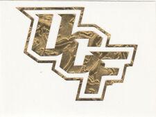 GOLD LEAF UCF Knights 2.5 inch fire helmet hard hat decal sticker