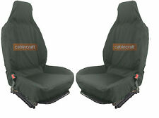 Cabincraft Ford Transit Connect Van Heavy Duty Waterproof Seat Covers Grey x 2