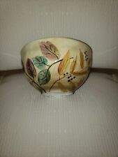 "Shadowwood by Home Trends huge Soup, Cereal, or Ice Cream Bowl 6 1/2"" x 4"" Euc"