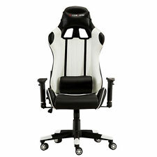 Office Chair Executive Recliner Racing Adjustable Gaming Support FX Leatherm5