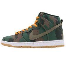 Nike DUNK HIGH SB FIVEONEO Black Olive Khaki Sunset 646552-037 (383) Men's