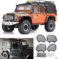 For Land Rover Defender Traxxas TRX4 RC4WD D90 D110 1/10 Cars Window Mesh Fence