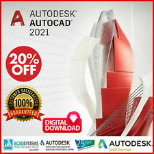 Autodesk AutoCAD 2021 | Windows or Mac | MultiLanguage