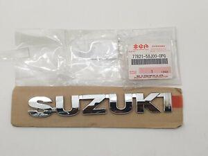 SUZUKI GRAND VITARA WAGON-R DECAL EMBLEM BADGE 77821-58J00-0PG GENUINE