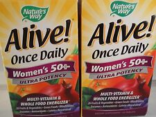 Alive Once Daily Womens 50+ Ultra Potency by Nature's Way 60 Tablets (2pk) 2018