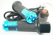 12V~84V LED Digital Meter EBike Electric Scooter Throttle For Li Battery Lifepo4