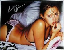 Estella Warren Signed 11x14 Photo Victoria Secret Model Beauty & The Beast G