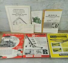 Vintage Mix Lot of Agriculture Brochures G.L.F. Minock Livestock Mayrath Hay