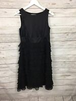 Women's Monsoon Party Dress - UK10 - Black - Great Condition