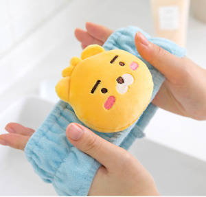 Kakao Friends Official Goods Wash Bath Hair Band 2 Color Pink Blue Apeach Ryan