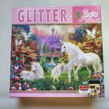 Masyer Pieces Jigsaw puzzle Glitter Unicorn  500 piece NEW
