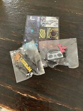 Mezco Toy Fair 2021 Exclusive Gomez Agent Gomez And Boombox Pins + Stickers