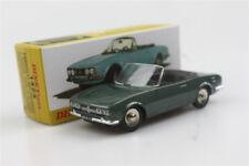 green Atlas 1423 Dinky toys 1:43 Cabriolet504 Peugeot Alloy car model Roadster