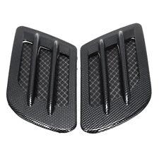 Car Decorative Air Flow Intake Scoop Turbo Bonnet Vent Cover Hood Fender