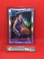 Luka Doncic 2018-19 Donruss Optic Shock Prizm Rated Rookie #177 Holo Silver