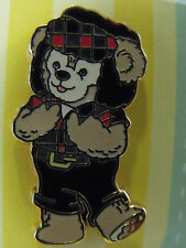 2011 Disney Booster Trading Pin Duffy Bear WDW Epcot Canadian Costume Canada