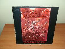 KREATOR PLEASURE TO KILL 1986 LP VINILE USATO SICURO