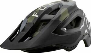 Fox - Speedframe Pro - MTB Bicycle Bike Helmet -  Green/ Camo - Medium