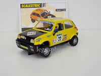 "Slot Car Scx Scalextric altaya Renault 5 Cilindro #22 "" Elf "" Auto Mitiche"