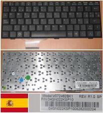 Qwertz-tastatur Spanisch ASUS EEEPC EPC 900 700 V072462BK1 04GN022KSP10 SCHWARZ