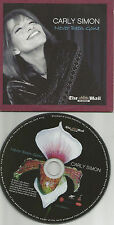 CARLY SIMON w/ MICHAEL McDONALD Card Sleeve Europe NEWSPAPER PROMO CD USA seller