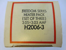 NEW CUTLER HAMMER SET OF 3 HEATER PACK FREEDOM SERIES H2006-3  2.05-3.03 AMP