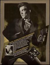 1980 Bruce Wolley & Camera Club Debut Album Promo Ad