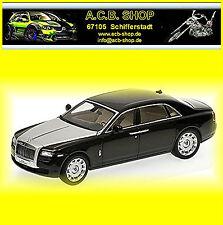 Rolls Royce Ghost EWB LHD 2009-13 Diamond Noir noir 1:43 Kyosho