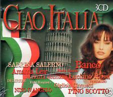 Ciao Italia   3 CDS SET BOX Sabrina Salerno y Otros  BRAND NEW SEALED CD
