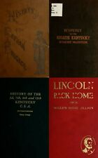 28 RARE OLD BOOKS ON KENTUCKY IN THE CIVIL WAR HISTORY GENEALOGY RECORDS ON DVD