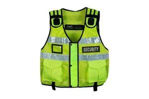 New Model Hi Viz Tactical Paramedic Dog Handler Vest , Security Vest , Tac Vest