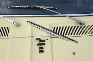 Fiat 126 127 850 900 T Sport Coupe Scheibenwischer silber NEU !!!