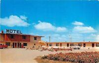 Angola Indiana~Panorama Motel~1950s Cars~Postcard