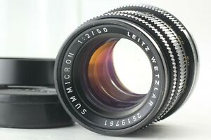 """Near Mint in Case"" Leica Leitz Wetzlar second Summicron M 50mm f/2 Lens JAPAN"