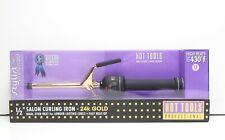 Hot Tools Professional Signature 24k Gold 1/2 Salon Curling Iron 430f Matte BLK