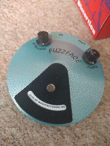 Dunlop JHF1 Jimi Hendrix Signature Fuzz Face Guitar Pedal
