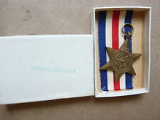 New Old Stock WWII British/Canadian France & Germany Star Medal