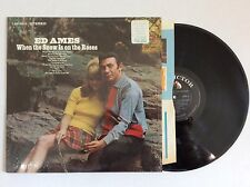 ED AMES When the Snow Is on the Roses RCA 1969 Stereo LP RCA LSP-3913 MINT
