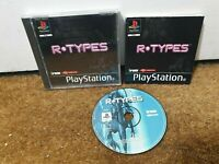 R Types - Complete - PS1 Playstation 1