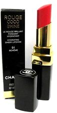 Chanel Rouge Coco Shine Hydrating Sheer Lipshine in 91 Boheme 0.1 oz BOXED