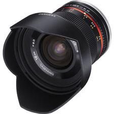 Samyang 12mm f/2.0 NCS CS Lens Fuji X Mount Black DE
