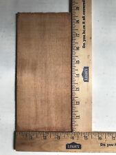 "(5) LOT OF 5, AFRICAN MAHOGANY/HEADPLATES/OVERLAY/PEGHEAD GUITAR/BANJO 8"" X 4"""