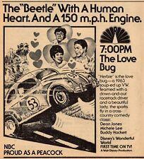 1979 TV AD~HERBIE THE LOVE BUG~WALT DISNEY PRODUCTION~1963 VOLKSWAGON BEETLE