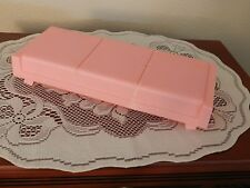 Vintage 1973 Mattel Barbie One Piece Pink Plastic Bed