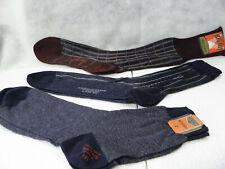 Lot of 3 Pair Vintage 1940 - 1950's  Men's Dress Socks Hosiery New with Tags