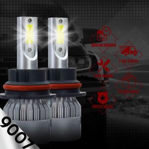 IRONWALLS 2side 1700W 255000LM 9007 HB5 LED Headlight Kits Hi/Lo Beam Bulb 6000K